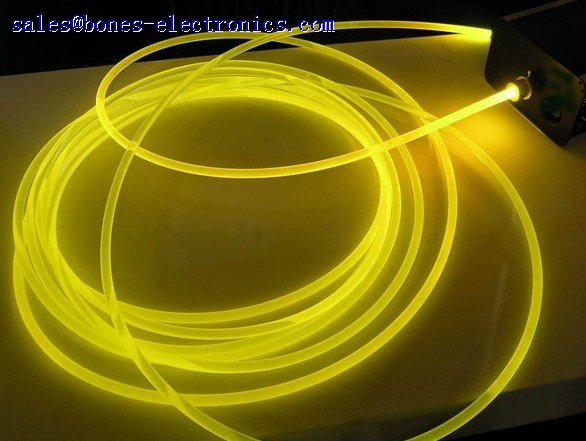 Solid Core Side Glow Fiber Optic Cable