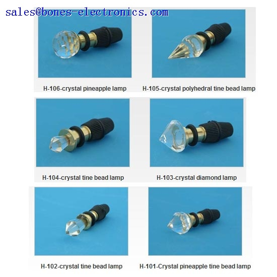 fiber optic lighting--end fittings