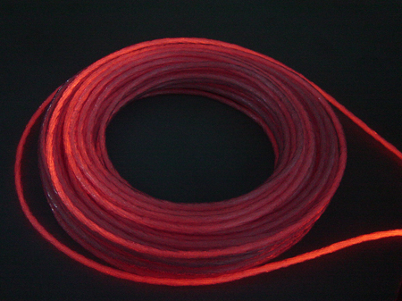 Stranded Side Glow Fiber Optic Cable