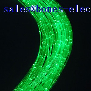 4*0.75mm sideglow sparkle cable