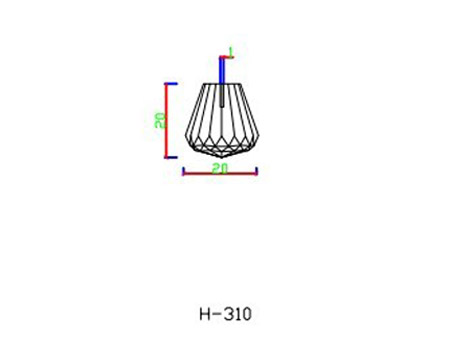 H310 fibre optic end fixtures